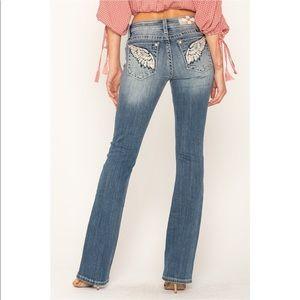EUC Miss Me Bootcut Denim Jeans